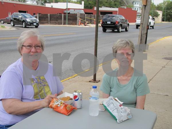 Glenda Molgaard and Sandy Zellers