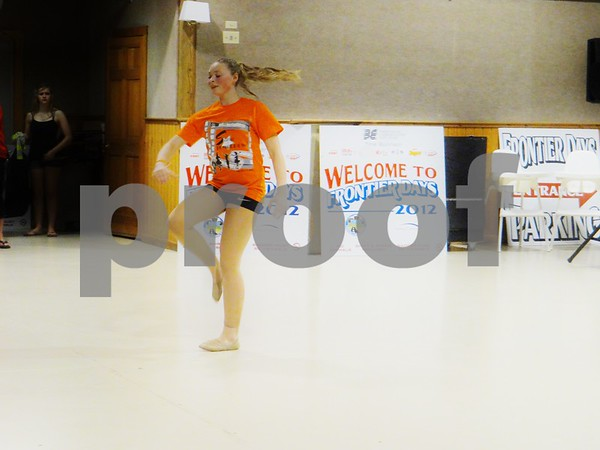 Hollingsworth dancer Maddie.