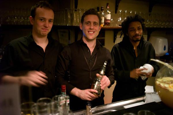 The bar crew