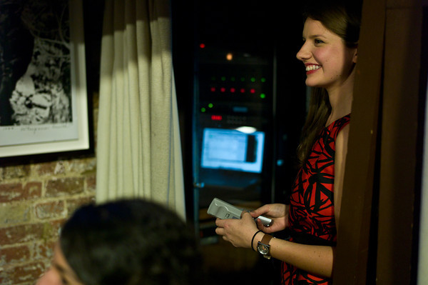 Frontline's Flora Carmichael watches the awards