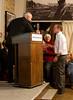 Jerome Starkey accepts the Frontline Awards 2010