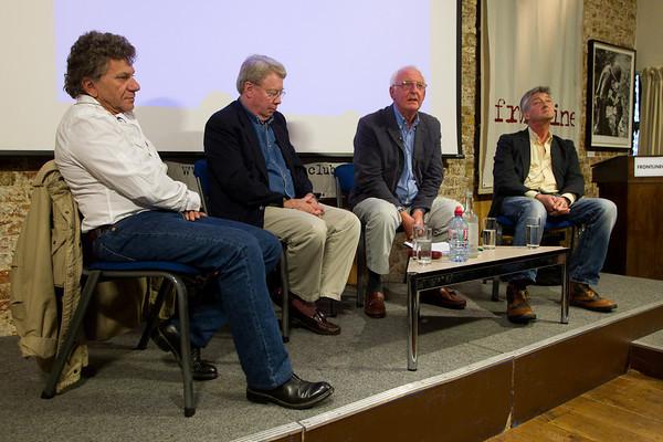 Patrick Chauvel, John Laurence, Mike Nicholson and Jon Swain