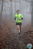 The fog and rain didn't stop adventurous runners from taking the trails on Kessler Mountain during Fayetteville's Frozen Toes 15k, Saturday.<br /> <br /> Photos for this race have been paid for courtesy of Fayetteville Parks and Recreation.  Race Participants are granted permission to make any and all prints and to post online as wanted for personal use only. This authorization pertains to and only to the images that begin with the numbers Frozen Toes - Erin 0001.