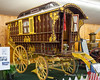 One of the wagons in the Antique Wagons display.  There was a lot of detailed work on the outside