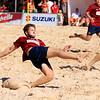 Suzuki Swiss Soccer Beach League 2013, Neuchâtel, BSC Solothurn vs BSC Basiléia