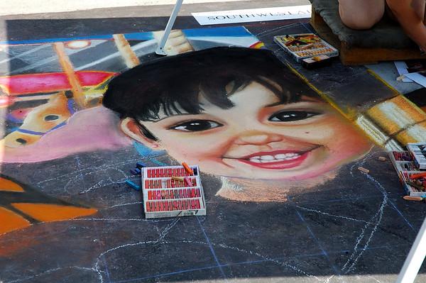 Fun with Chalk 2007