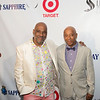 Danny Simmons  & Russell Simmons