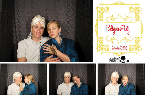 Bollywood Party 9.7.13 Photo Strips