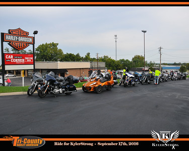 Harley Ride for KylerStrong 9/17/16
