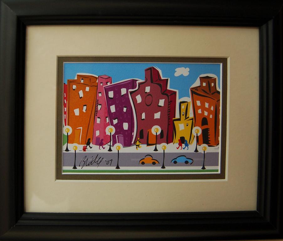 City Scene II<br /> 8 x 10 Archival Print<br /> Bren Riddle<br /> $45