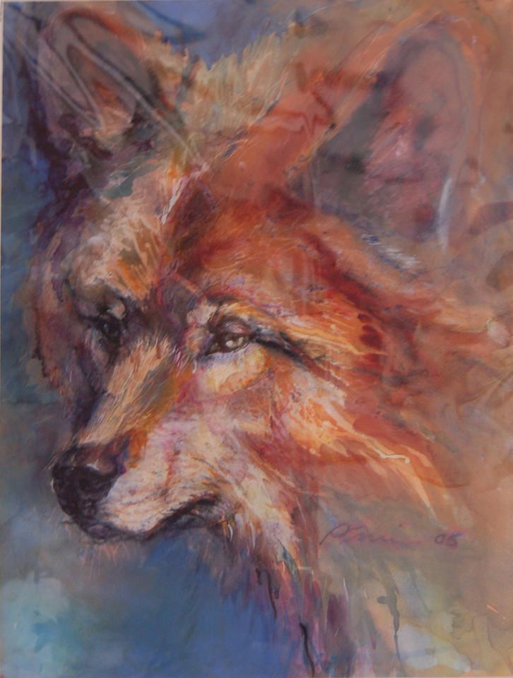 Wolf<br /> Giclee Print<br /> Patty Crumrine<br /> $85