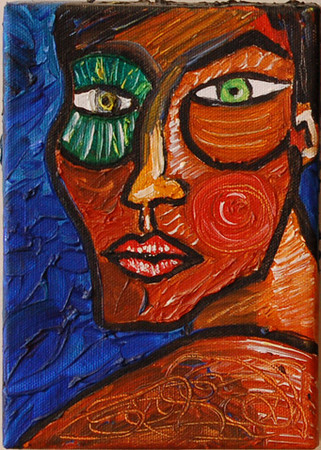 Cleopatra<br /> Oil on Canvas<br /> Lucy Thompson Marsh<br /> $100