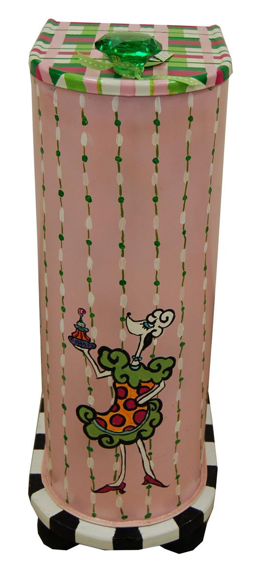 Mutt Mail<br /> Hand Painted Mailbox <br /> Karen Arant<br /> $165