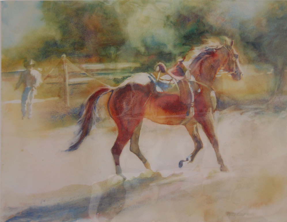 Investing Time <br /> Giclee Print<br /> Patty Crumrine<br /> $85