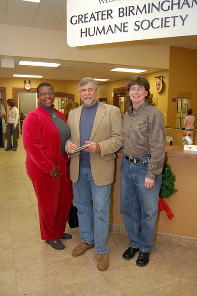 Dian David, Hank Siegel (FASG artist) and Nita Webb