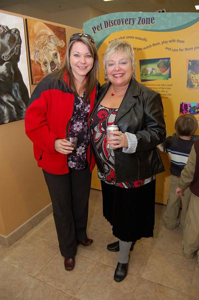 Kerri Patrick and Sharon Biro