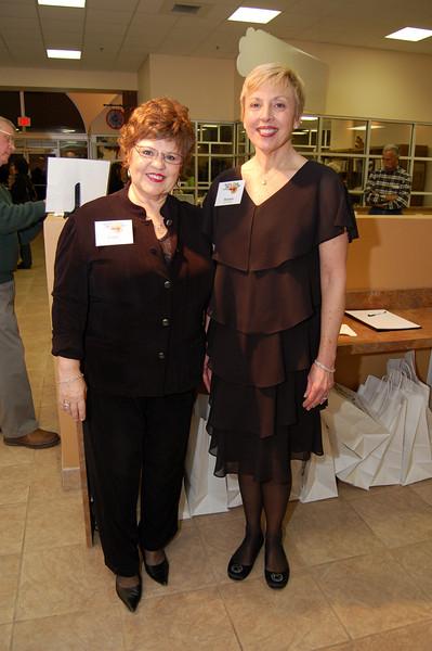 Cathy Stewart and Melanie Schultz
