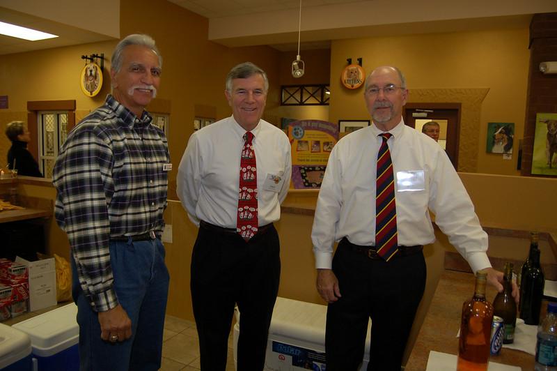 Don Deitz, Chick Preston and Jerry Hoggatt