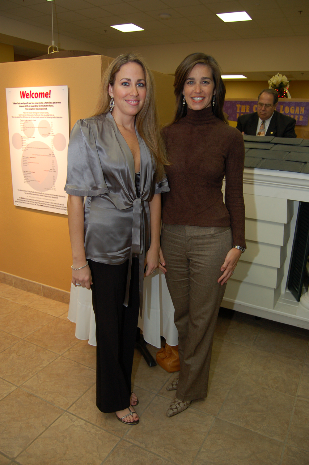 Julie Elliott and Laura Norred