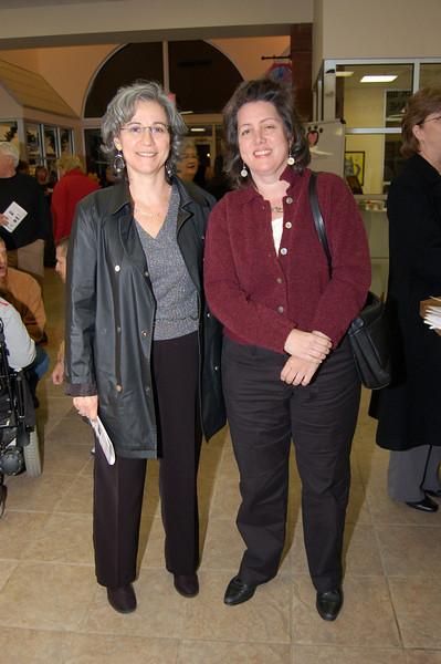 Anna Diliberto and Claire Caulfield