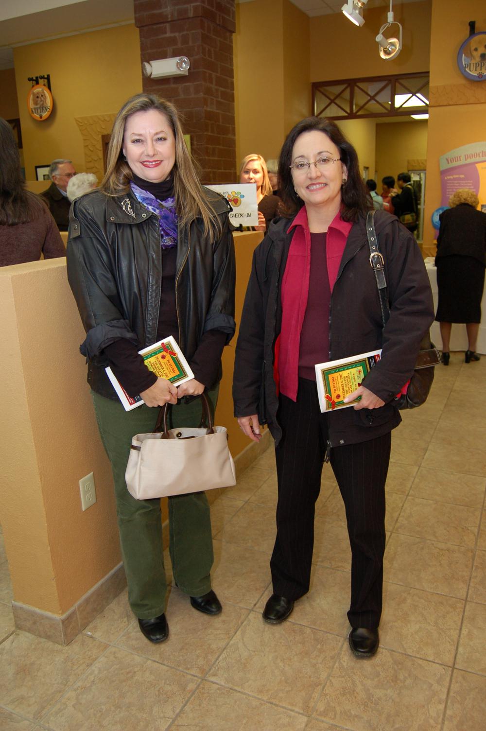Lynn Graves and Allison Wharton