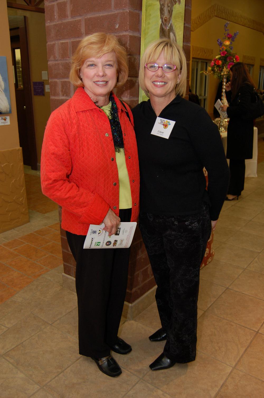 Cheryl Schoenfeld and Celeste David