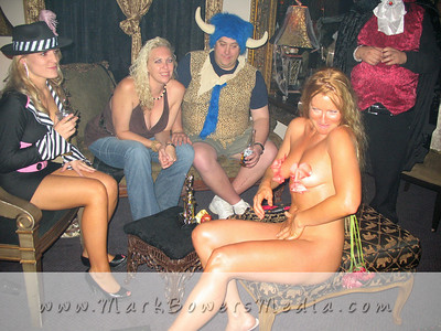 Photos of Halloween Party in Las Vegas in 2007 by Mark Bowers.