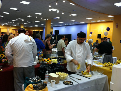 """Bananas Foster"" was a very popular dessert, prepared by the chefs from The Whately Inn."