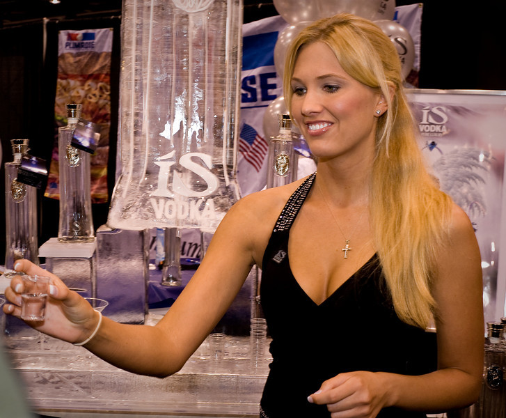 Photos of Is vodka from Iceland at G2E 2008 in Las Vegas for buying prints and downloads.
