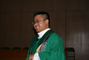 Fr. Thi Pham before Wednesday's liturgy.