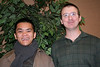Our student participants:  Br. Long Nguyen and Frater Greg Schill