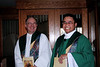Fr. Stephen Huffstetter and Fr. Thi Pham
