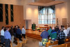 Fr. Mark Mastin was the main celebrant at the Tuesday afternoon liturgy.