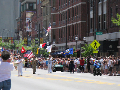 the start of the 2009 Columbus Ohio Gay Pride Parade