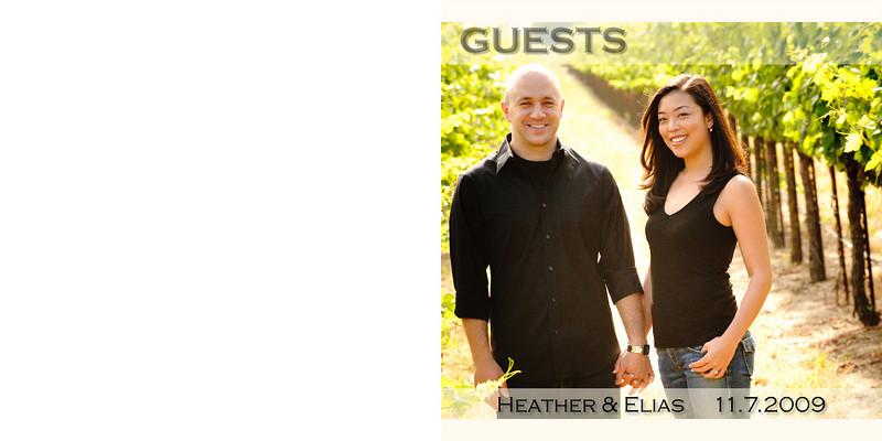Heather&Elias Guestbook - Part deux