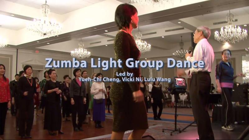 Zumba Light Group Dance Led by Yueh-Chi Chang, Vicki Ni, and Lulu Wang