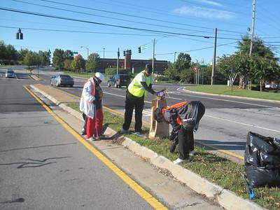 GCAC Roadside Cleanup 2011