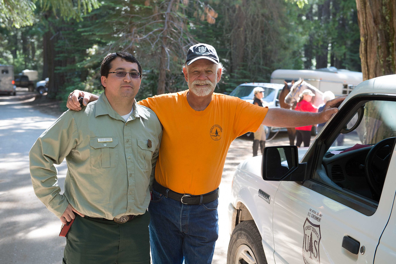Working together, Gold Country Trails Council and the Forest Service are a perfect example of how cooperation between the two groups can result in a benefit for the public.