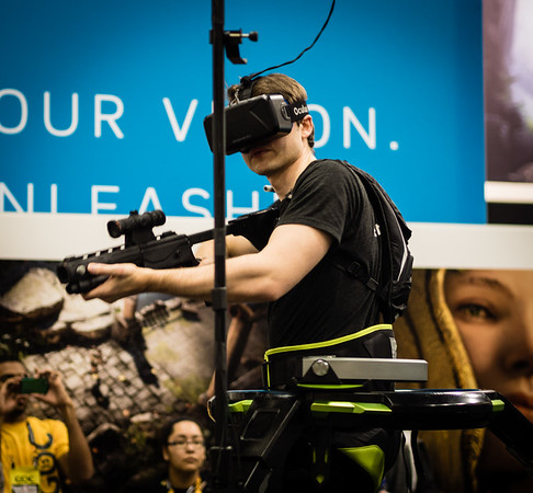 Oculus Rift full body VR at GDC 2015