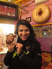Zahra and her Voodoo donut