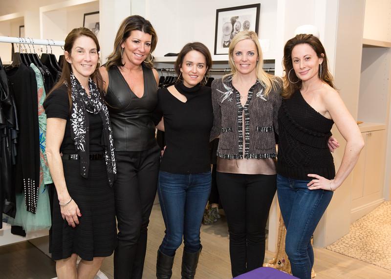 5D3_0395 Maryann Ghirardelli, Angela Guitard, Wendy Reyes, Ginger Stickel and Melissa Levin