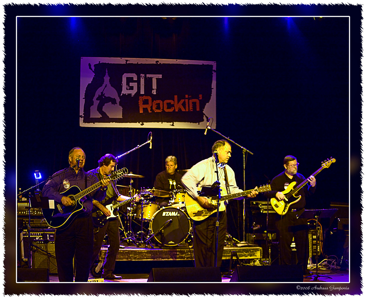 The opening guest band for the GIT Rockin event.