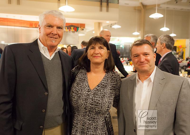 Bill & Joann Fenton with Joann's brother, Peter Campanelli