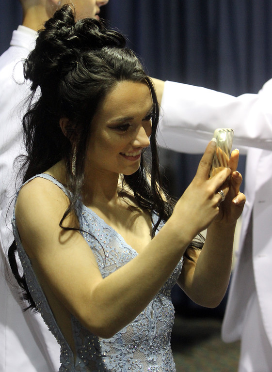 . Greater Lowell Tech prom. Madison Brum of Dracut.  (SUN/Julia Malakie)