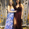 Greater Lowell Tech prom. Sydney Moulton of Dracut, left, and Alexis Newson of Lowell.  (SUN/Julia Malakie)