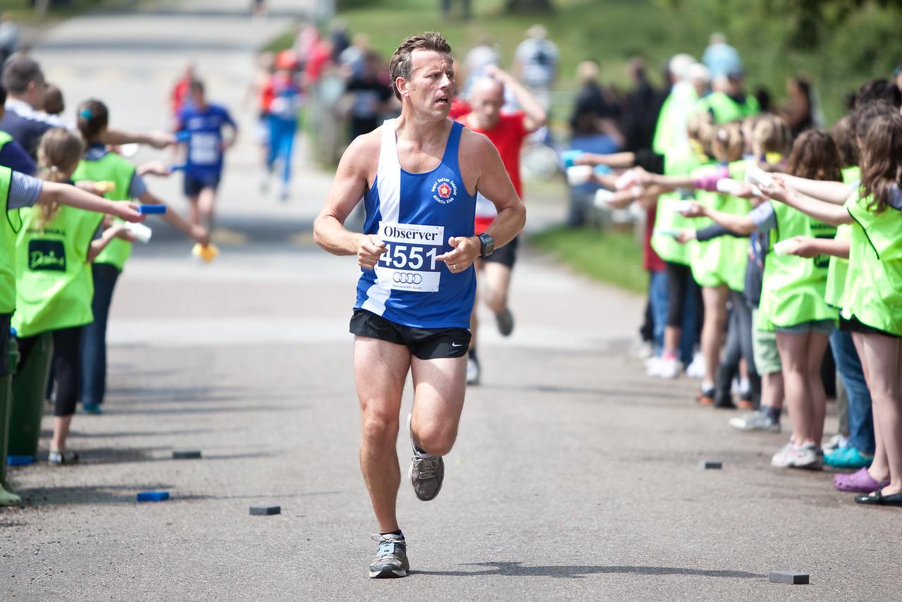 Great Midlands Fun Run - 2011