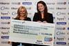 Great Midlands Fun Run Awards 2015 - L to R - Jane Sutton, Joanna Sullivan (Teenage Cancer Trust)
