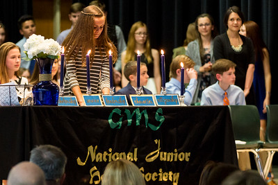 GMS NJHS Induction Pics