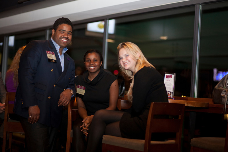 (Boston, MA- Tuesday, December 13, 2011)-- <br /> The Boston College GOLD (graduates of the last decade) Reception was held in the State Street Pavillion at Fenway Park<br /> Photo by Rose Lincoln for Boston College