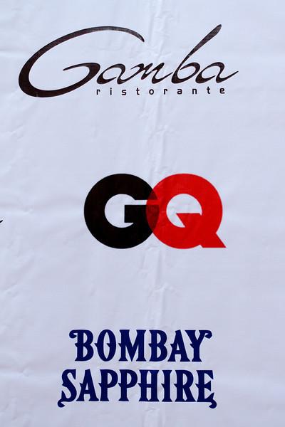 GQ - Bombay Sapphire - Gamba Event